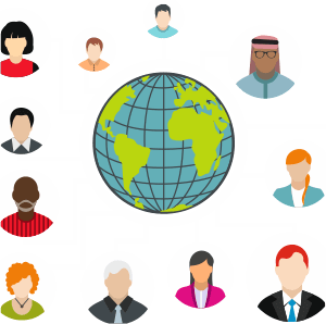 International team and leadership